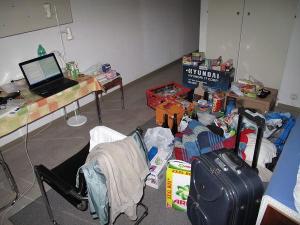 a bit messy
