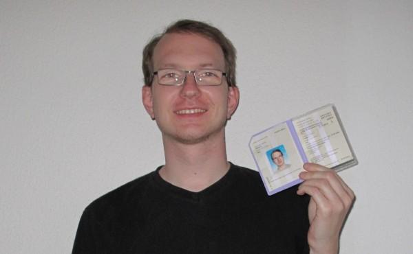 My new residence permit or also Ausländerausweis