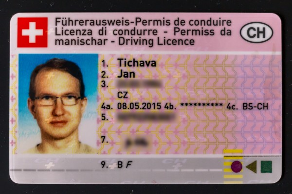 New Swiss Driving License